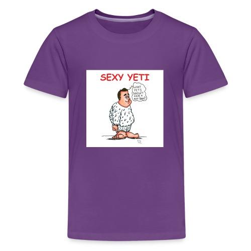 Sexy Yeti - Kids' Premium T-Shirt