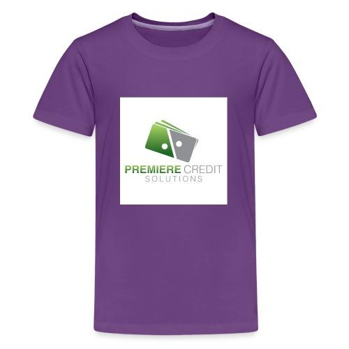 4516 Premiere Credit Solutions Logo H 02 - Kids' Premium T-Shirt