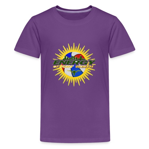 The Energy of Fort Worth Texas - Kids' Premium T-Shirt