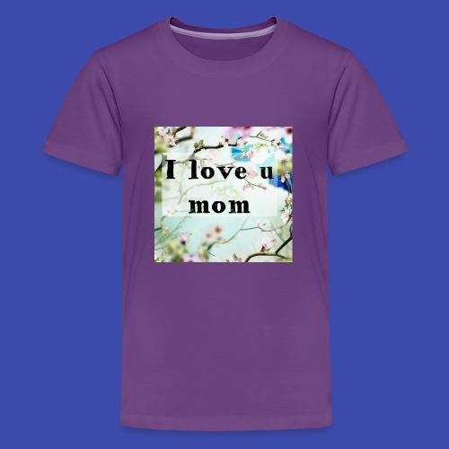 Love for Mom - Kids' Premium T-Shirt