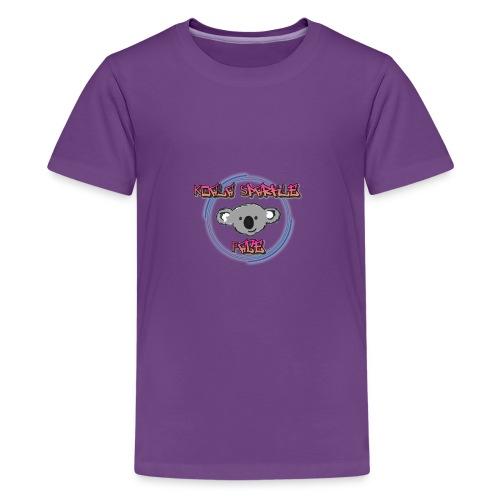 Koala Sparkle Face logo - Kids' Premium T-Shirt