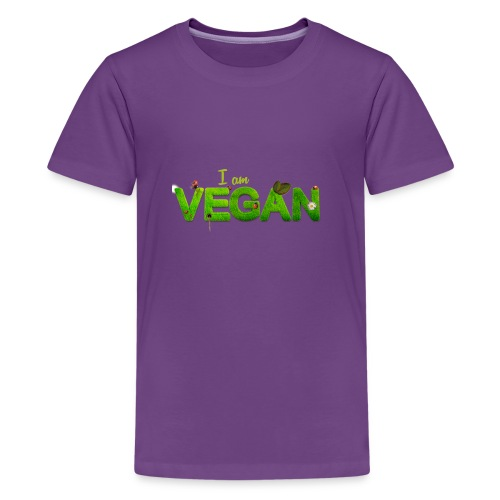 I am Vegan - Kids' Premium T-Shirt