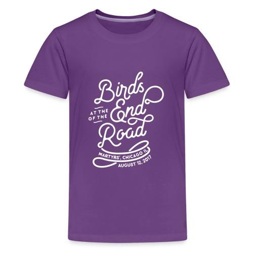 Birds Script - Martyrs' 2017 - Kids' Premium T-Shirt