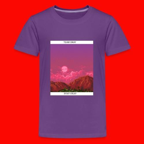 TEAM OKAY 8-bit - Kids' Premium T-Shirt