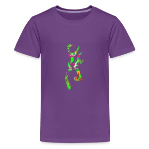 multi color deer - Kids' Premium T-Shirt