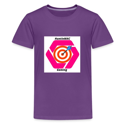 YouTubeLogo - Kids' Premium T-Shirt
