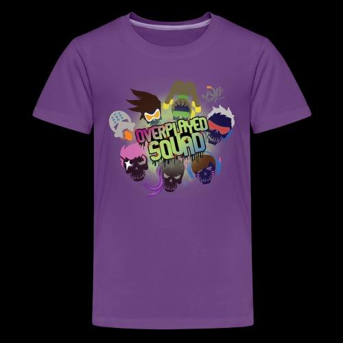 Overplayed Squad - Kids' Premium T-Shirt