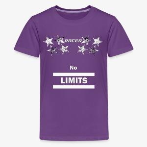 Racer white - Kids' Premium T-Shirt