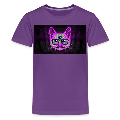 Meow Illuminati - Kids' Premium T-Shirt