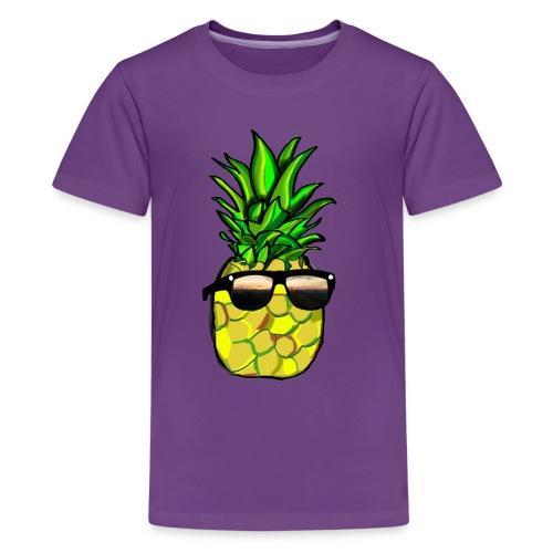 pineapple shirt - Kids' Premium T-Shirt