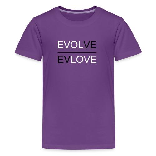 Classic Reverse B & W - Kids' Premium T-Shirt