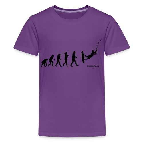 Kite surfing Evolution - Kids' Premium T-Shirt