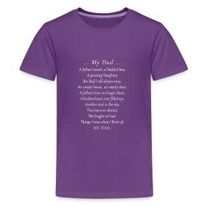 MY DAD - Kids' Premium T-Shirt