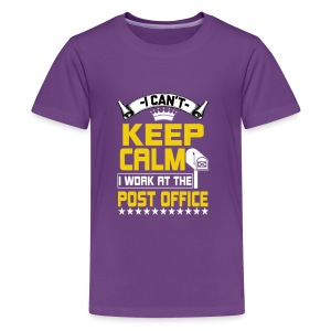 i work at the post office t shirt - Kids' Premium T-Shirt
