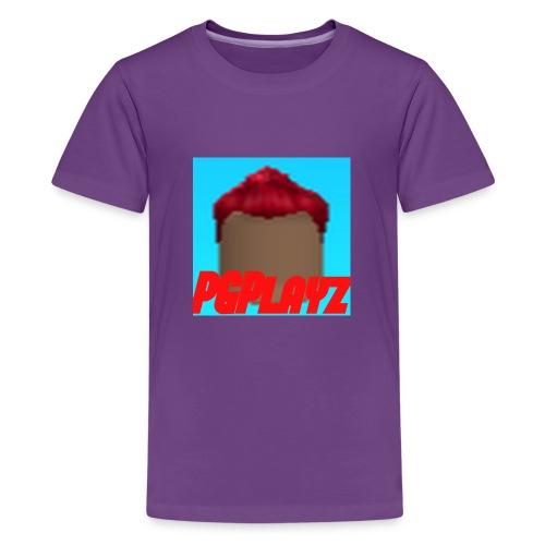 PGPlayz Sharp with Text - Kids' Premium T-Shirt