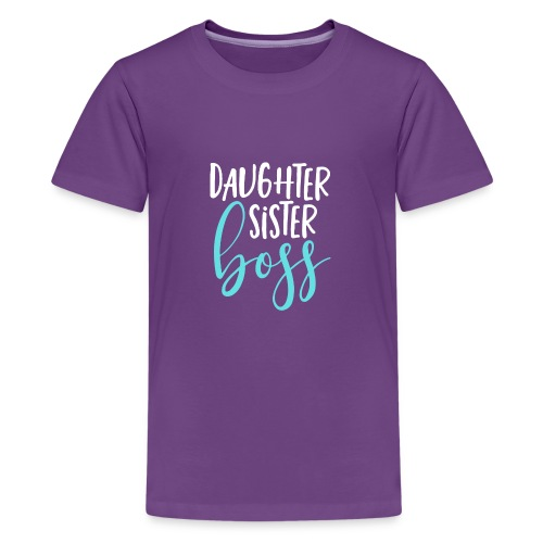 Daughter sister boss - Kids' Premium T-Shirt