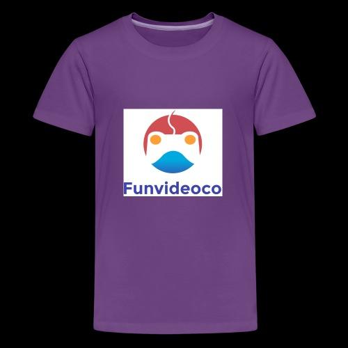 Fun Video Co logo - Kids' Premium T-Shirt