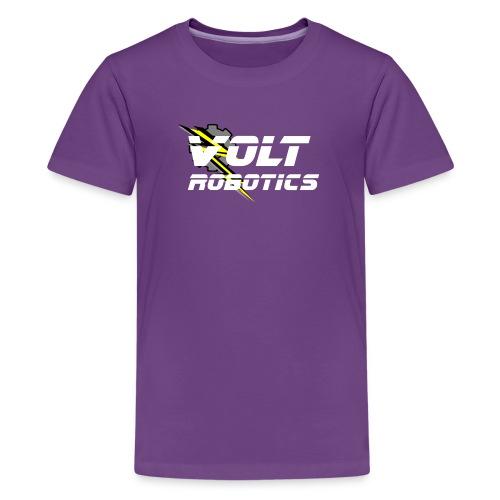 VOLT Robotics White Logo - Kids' Premium T-Shirt