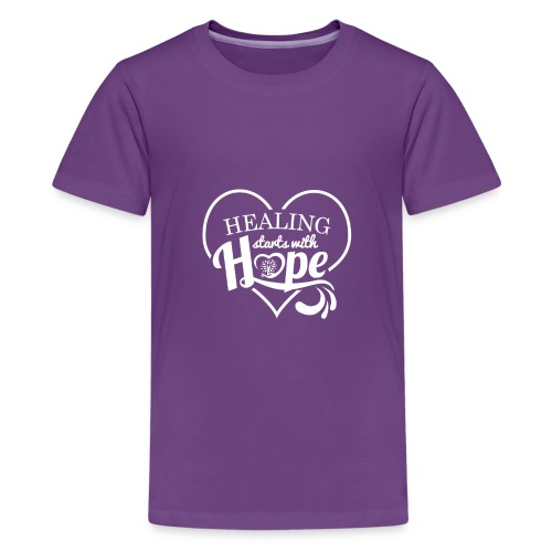 Healing with Hope - Kids' Premium T-Shirt