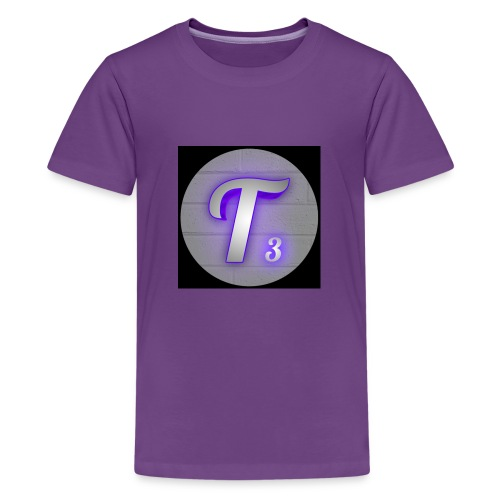 Black T3 - Kids' Premium T-Shirt