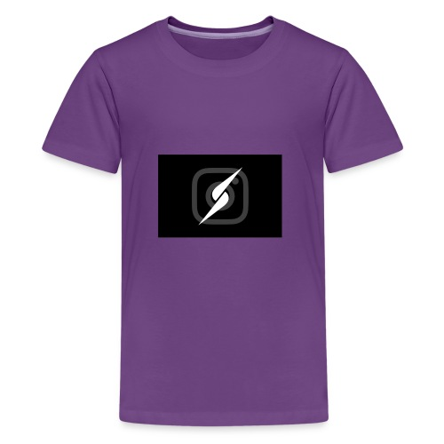 Lucas and andres Logo merch - Kids' Premium T-Shirt