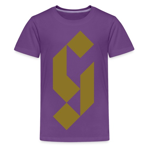 G Initial Glmn Logo - Kids' Premium T-Shirt
