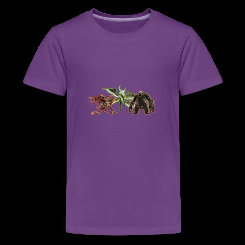 FFXIV Primals - Kids' Premium T-Shirt