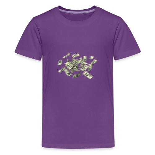 Money flying - Kids' Premium T-Shirt
