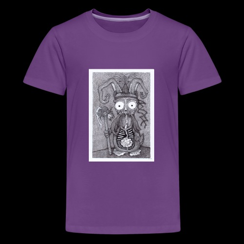 Rabbit Shaman - Kids' Premium T-Shirt