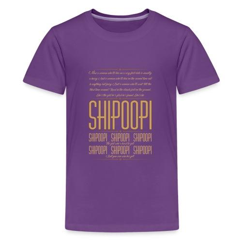 She's his Shipoopi - Kids' Premium T-Shirt