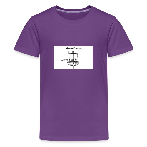 gone_discing - Kids' Premium T-Shirt