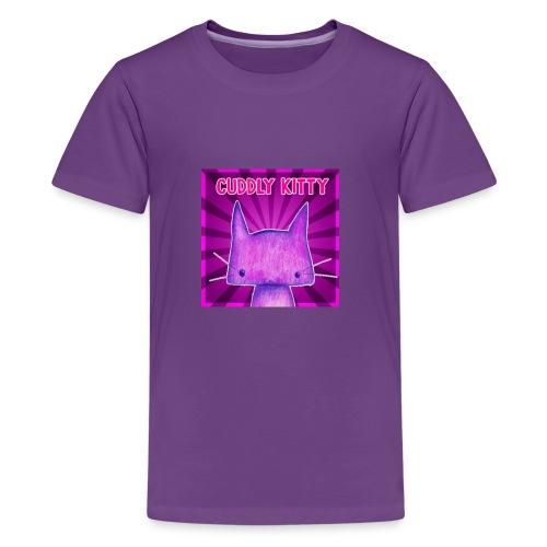CuddlyKitty Picture - Kids' Premium T-Shirt