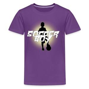 soccer boy - Kids' Premium T-Shirt