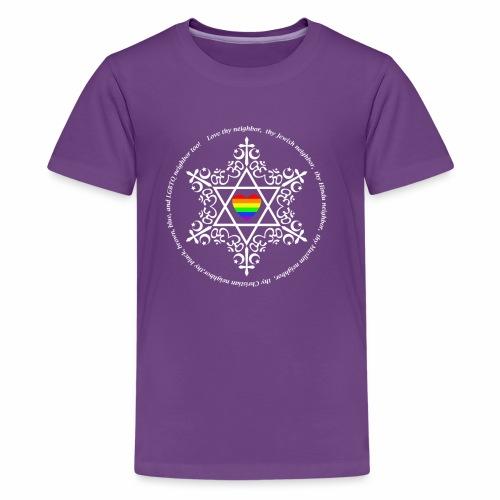 Love ALL thy neighbors - Kids' Premium T-Shirt