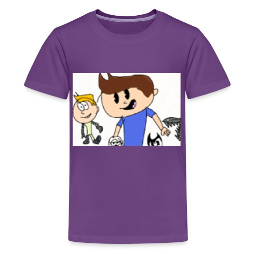 The MichaelKidsTV Old School Logo! - Kids' Premium T-Shirt