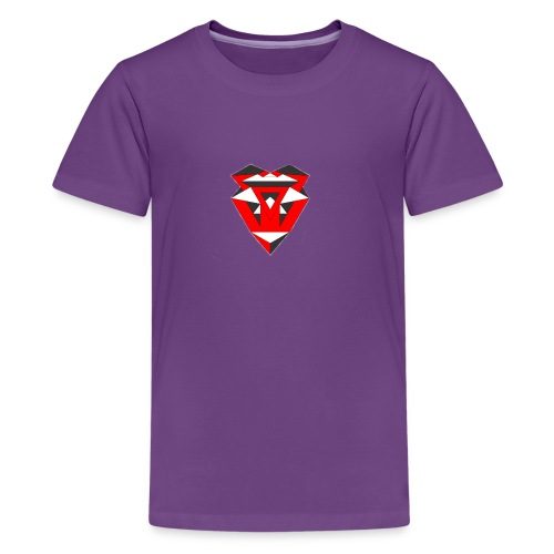 IntricateLove Heart - Kids' Premium T-Shirt