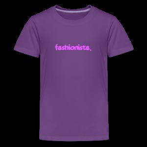 Fashionista - Kids' Premium T-Shirt