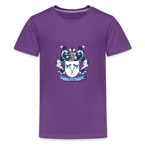 Eccles Family Crest - Kids' Premium T-Shirt
