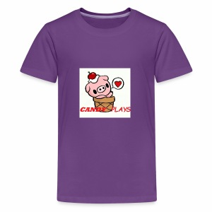 Candy Plays - Kids' Premium T-Shirt