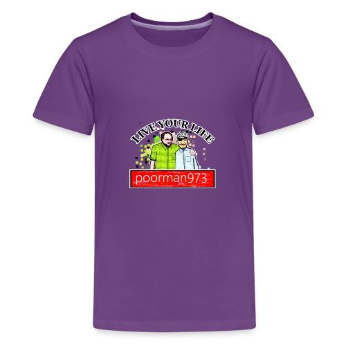 Don't let Depression Win, Live Your Life - Kids' Premium T-Shirt