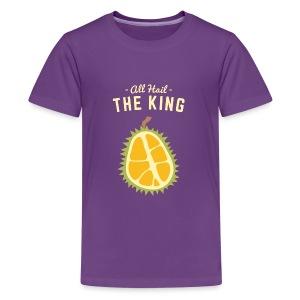 the king fruit - Kids' Premium T-Shirt