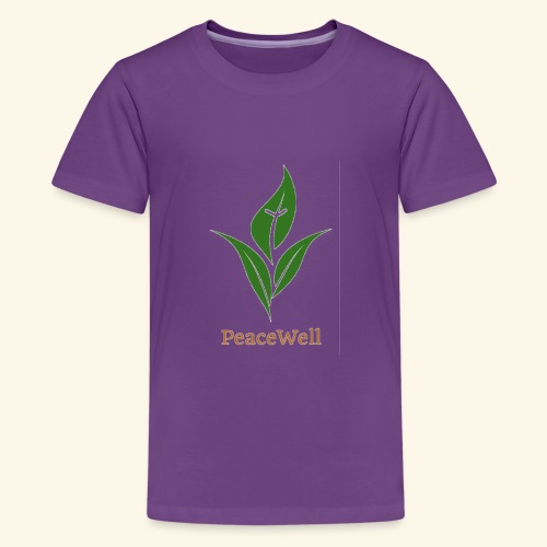 PeaceWell - Support your vendor! - Kids' Premium T-Shirt