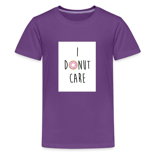 I Donut Care - Kids' Premium T-Shirt