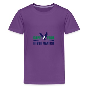 Cape Fear River Watch Logo - Kids' Premium T-Shirt