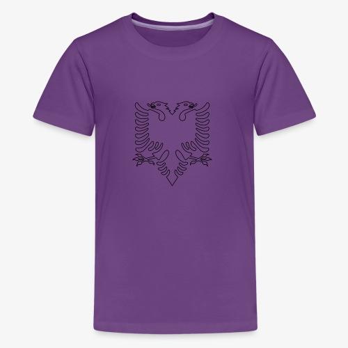 Albanian Eagle - Kids' Premium T-Shirt