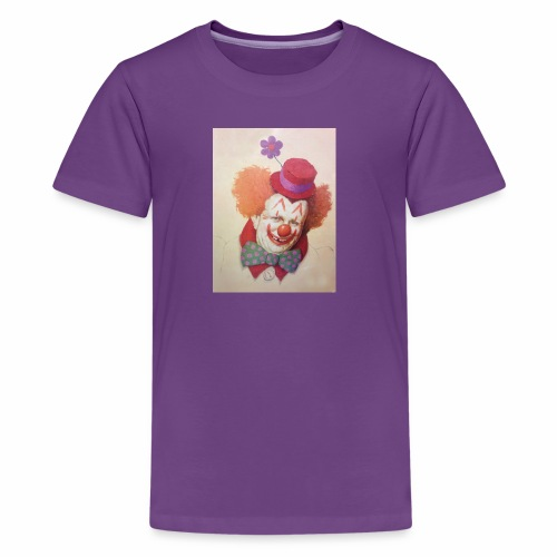Old Clown Full - Kids' Premium T-Shirt
