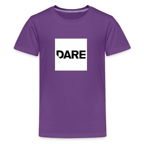 Dare logo - Kids' Premium T-Shirt