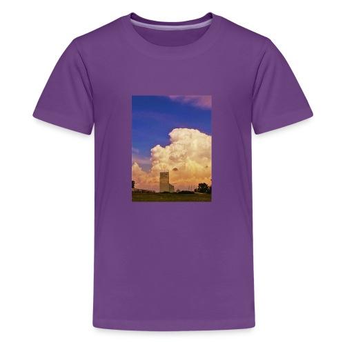 stormy elevator - Kids' Premium T-Shirt