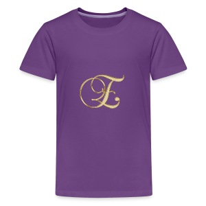 e golden logo - Kids' Premium T-Shirt