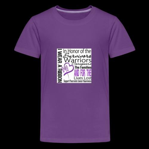 pan cancer aware - Kids' Premium T-Shirt